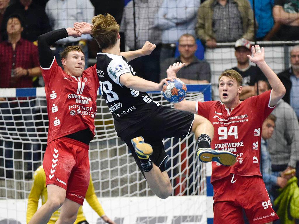 Westpress Arena Hamm - Handballspiel des ASV Hamm.