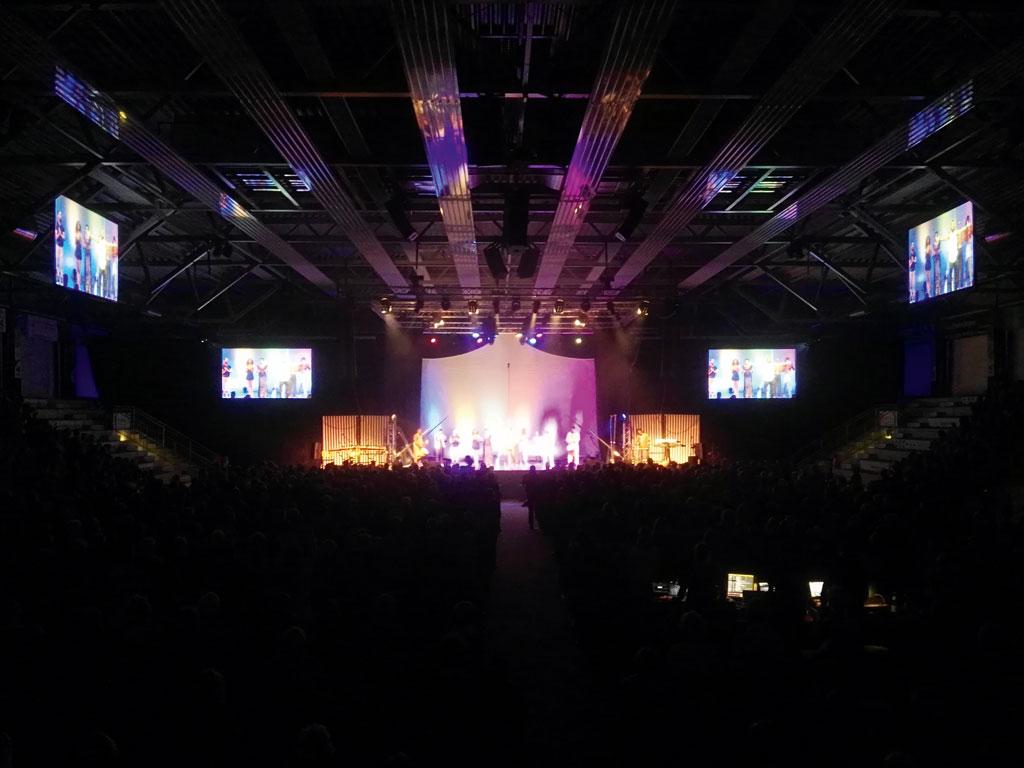 Westpress Arena Hamm - Ein beliebter Veranstaltungsort im Herzen Westfalens.